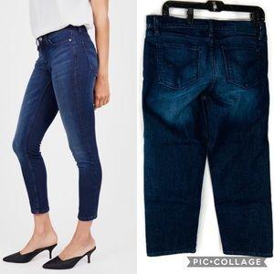 Calvin Klein Cropped Skinny Jeans Size 31 euc